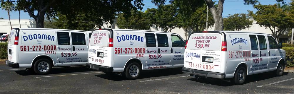 About the doorman garage door dealer in southeast florida for Clopay dealer